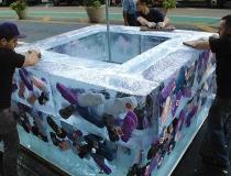 Подгонка ледяных блоков