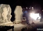 Олимпийские талисманы изо льда фото-2