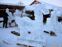 Конь богатыря изо льда