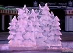 Фото ледяных елочек - 1