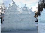 Фото ледяных елочек - 2