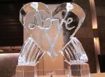 Подарок изо льда ко дню Святого Валентина
