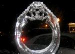Кольцо изо льда