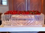 Ледяное украшение стола ко дню Святого Валентина - 2