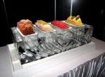 Ледяное украшение стола ко дню Святого Валентина - 5