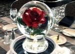 Ледяное украшение стола ко дню Святого Валентина - 7