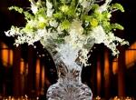 Ледяное украшение стола ко дню Святого Валентина - 8