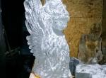 Ледяная скульптура Венецианский лев фото-2