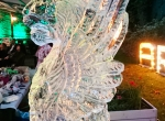 Ледяная скульптура Венецианский лев фото-3