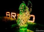 Ледяная скульптура Венецианский лев фото-4
