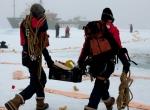 Витрувианский человек на льду фото-2