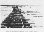Укладка железнодорожного пути узкой колеи