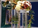Ледяные подставки для цветов