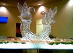 Ледяная композиция для стола