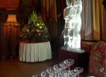 Фото свадебной ледяной скульптуры -5