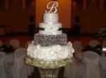 Фото свадебной ледяной скульптуры -8