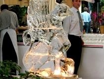 Интерьерные ледяные скульптуры фото-1