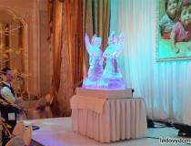 Интерьерные ледяные скульптуры фото-2