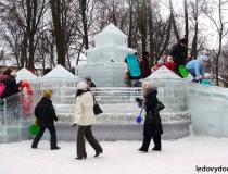Ледяные сооружения фото-2