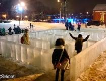 Ледяные сооружения фото-3