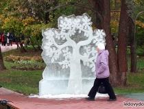 Ледяные скульптуры для украшения улиц фото-3