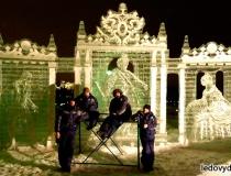 Монументальные ледяные скульптуры фото-1