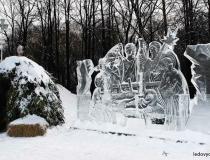 Ледяное оформление праздников фото-3
