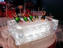 Ледяное сервировка стола фото-1