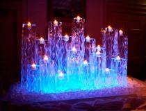 Ледяные свечи фото-2