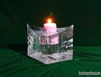 Ледяные свечи фото-3