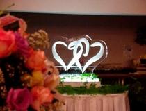 Свадебная ледяная скульптура фото-1