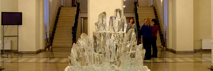 Интерьерные ледяные скульптуры