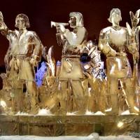 Ледяная скульптура из комплекса Двенадцать месяцев - Весна