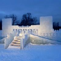Ледовое оформление игровых зон для детей