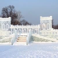 Игровые комплексы для детей изготовленные изо льда