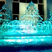 """Новогодняя ледяная композиция """"С Новым Годом!"""""""