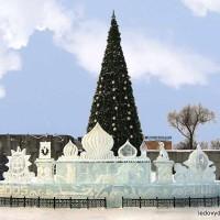 Ледяной дворец для комплексного оформления праздников