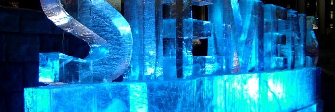 Ледяной текст