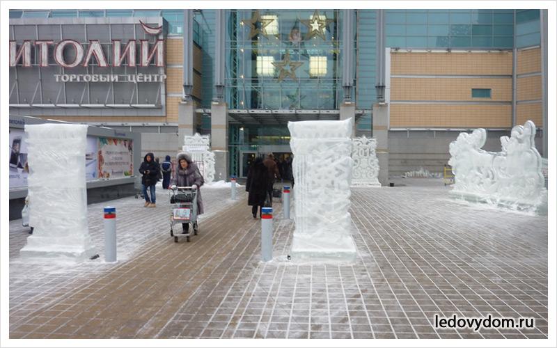 Изготовление скульптур изо льда