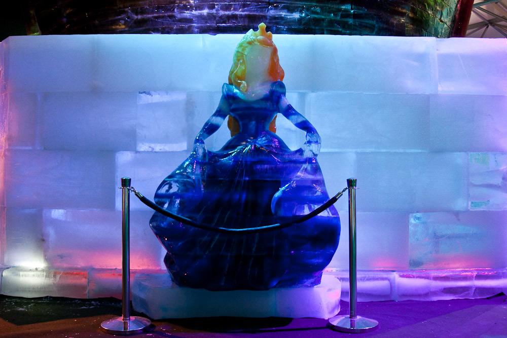 Фото сказочных персонажей изо льда