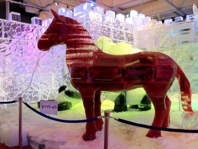 Фото ледяной конь