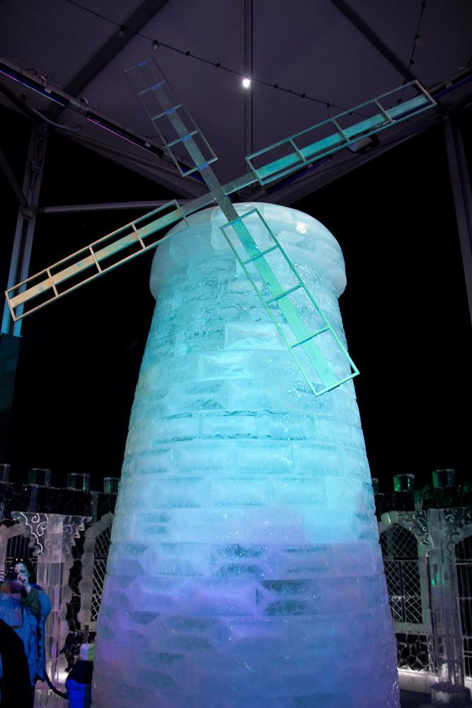 Ледяная мельница фото