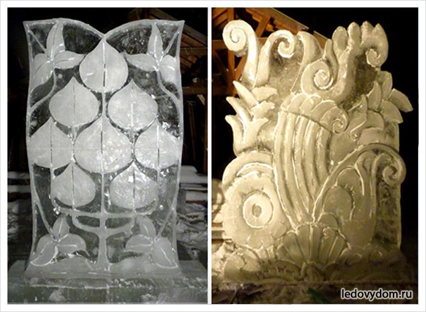 Фото ледяных скульптур