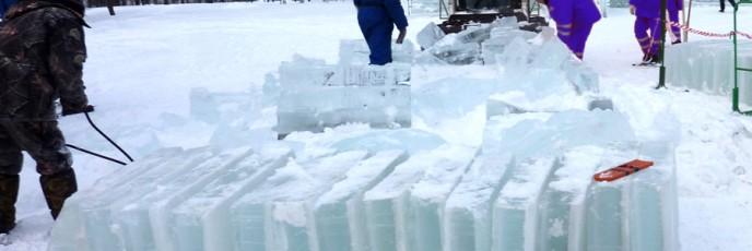 Изготовление ледяных скульптур
