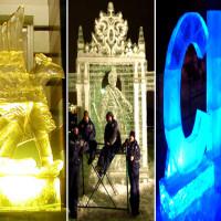 Фотографии ледяных скульптур