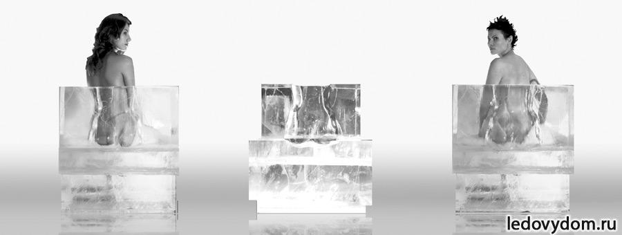 Ледяная реклама IB-gallery