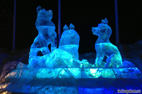 Ледяная группа Волки