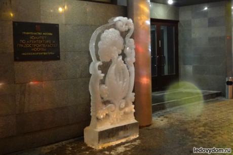 Ледяной одуванчик на 8 марта