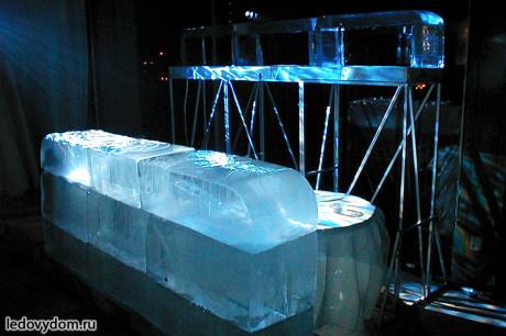 Креативный ледяной бар