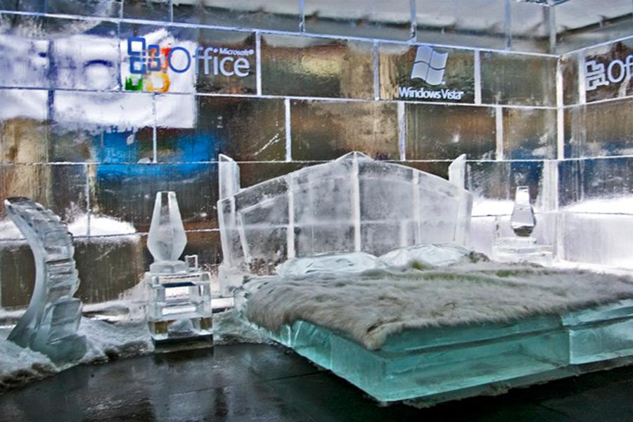Ледяной офис Майкрософт